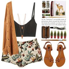 A fashion look from October 2013 featuring Paul Smith shorts, Base Range bras and Dollhouse sandals. Browse and shop related looks.