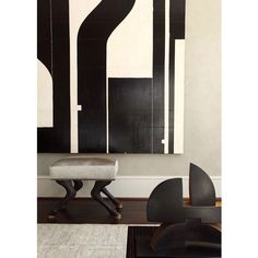 || bold + graphic | Peace Design, Atlanta || #art #artwork #abstractpainting #painting #blackandwhite #decor #interiors #interiordesign #instaart #instadesign #inspiration #style #pingo_art