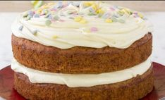 La mejor tarta de zanahoria del mundo | Telva.com Sin Gluten, Vegan Gluten Free, Pastry Cake, Carrot Cake, Vanilla Cake, Carrots, Nom Nom, Bakery, Cheesecake