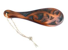 This Small Maori Carved Patu Club is an example of the traditional War Club, used mostly in pre-European times, since it became somewhat obsolete after.