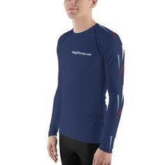 A smooth, long-sleeve 4 Legs Fitness rash guard. It serves many purposes and we love to wear it as a lower layer especially when it's getting a bit colder. It protects against wind and sun or rashes and scratches from MMA or fighting. Fitness Programs, Workout Programs, Online Personal Training, Rash Guard, Mma, Stretch Fabric, Wetsuit, Smooth, Legs
