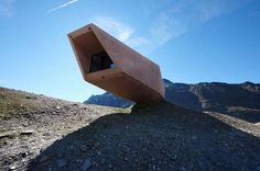 Landscape-Integrated Installations - The Timmelsjoch Museum is Gravity-Defying Architecture (GALLERY)