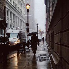 Snowy Commute // Philadelphia