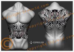 olynesian-design-storm3d-upperback-maori black