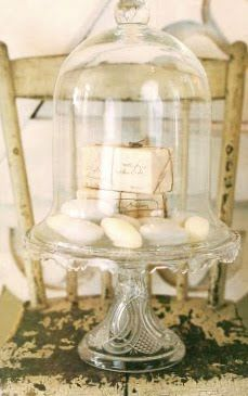 lovely cloche vignette...