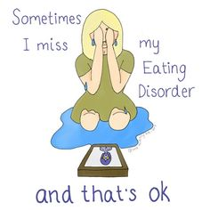 Woman's Raw Illustrations Show The Reality Of Battling An Eating Disorder | HuffPost