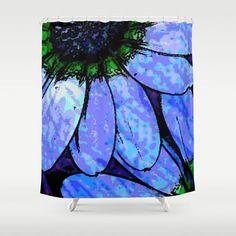 Daisy Shower...society6.com/product/days-e… #daisy #flower #botanical #plant #garden #seed #bloom #blossom #vibrant