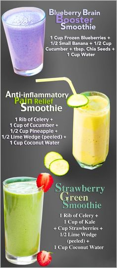 Gettin' Our Skinny On!: Smoothies.......mmmm!
