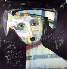 "Saatchi Art Artist L Balombini; Painting, ""Find You"" #art"