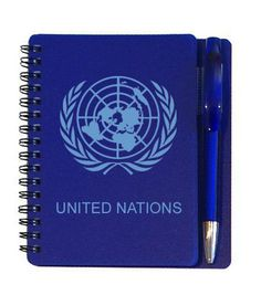 United Nations Notebook - Printed Pens and Notebooks South Africa
