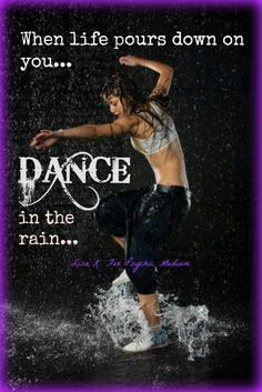 I miss dancing, I love to dance and would love to get back into it.
