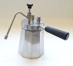 Vtg MILANO TCL Stovetop MILK FROTHER STEAMER Espresso Cappuccino Latte ITALY
