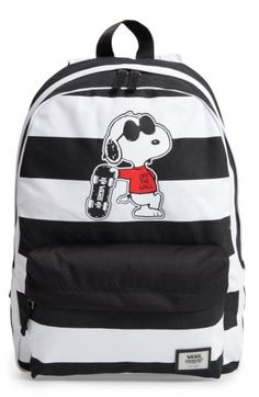 Free shipping and returns on Vans x Peanuts® Realm - Joe Cool Snoopy  Backpack (Kids) at Nordstrom.com. Vans and Peanuts team up to highlight  characters from ... 60cf164bb435a