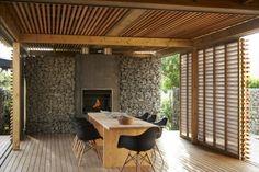 Hoy te presentamos unas ideas muy originales de muros de gaviones usados para el diseño del jardín o en la arquitectura de la casa.