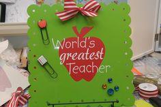 Teacher Gift Ideas - The Polka Dot Chair