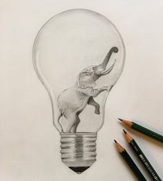 #elephant#lightbulb#glühbirne#idea#zeichnung#bleistift#drawing#creative#blackandwhite#bw#love#artist#art#artlovers#arts_help#artwork#artistic_nation#artsgallery#artsssupport  by @vivaladaen on...