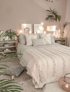 boho Schlafzimmer Tropical Home Room Ideas Bedroom, Living Room Bedroom, Dream Bedroom, Home Bedroom, Modern Bedroom, Interior Design Living Room, Contemporary Bedroom, Bed Room, Bedroom Furniture