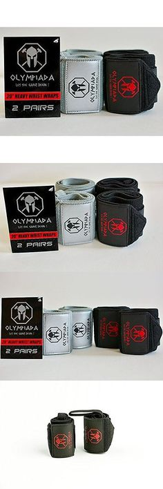 Wrist and Knee Wraps 179821: 20 Olympiada Wrist Wraps -Very Stiff Variety Pack (4 Wraps 2 Pairs)- 2017 New -> BUY IT NOW ONLY: $73.11 on eBay!