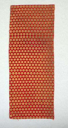 Panel Date: 15th century Culture: Italian (Florence) Medium: Silk and metal thread Dimensions: L. 23 x W. 9 inches (58.4 x 22.9 cm) Classification: Textiles-Velvets Credit Line: Fletcher Fund, 1946 Accession Number: 46.156.72
