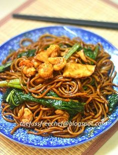 the FUSS FREE chef: Hokkien Mee KL Style