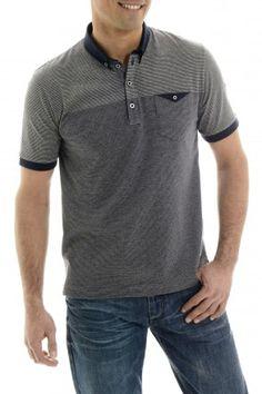 181c27a87fb4d 83 Best Polos images   Polo shirts, Block prints, Men s clothing