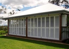 Adjustable Aluminium Shutters