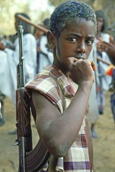 Central African Republic - child soldier