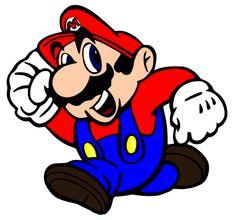 Free Svg file of Mario