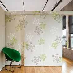 Parsley Blooms Wall Pattern Kit  See more Wall Pattern Stencil Kits: http://www.cuttingedgestencils.com/wall-pattern-stencils.html  #Wall #stencils #patterns