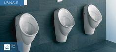 Linienunabhängige Urinale    Auch in Privatbädern geht der Trend zu Urinalen. Unser linienunabhängiges Urinal sind die perfekte Ergänzung sowohl im privaten als auch im öffentlichen Bereich. Dank ihrer modernen Gestaltung sind sie ausgesprochen variabel einsetzbar. Modern, Contemporary, Trends, Elegant, Bathroom, Tableware, Design, Classy, Washroom