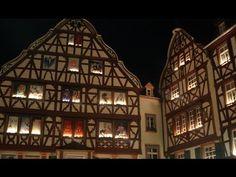 Bernkastel-Kues Christmas market in Mosel in Germany