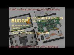 microsoft surface pro broken lcd screen repair