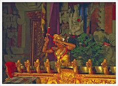 Balinese traditional musical instrument