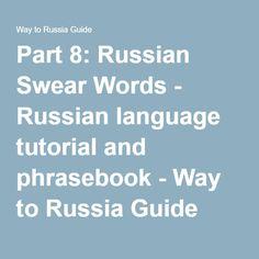 Russian Language Tutorial Online Phrasebook 42