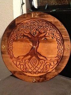 Celtic Tree of Life | Celtic Tree of Life Clock 18 by MidnightDesignsCL on Etsy, $60.00