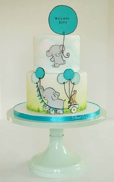 Cake Wrecks - Home - Sunday Sweets: 10 Adorable Baby Shower Cakes