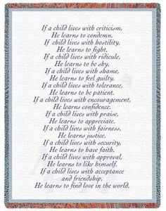 Love this poem!  It hung in my parents home and I was able to find the exact same one to hang in mine :o)