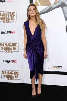 Monique Lhuillier - Style Crush: Amber Heard on the Red Carpet - Photos