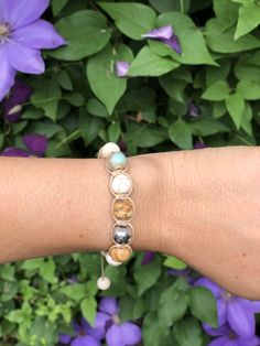 Gemstones shamballa bracelet Gemstones, Bracelets, Jewelry, Design, Ear Studs, Bangle Bracelets, Jewlery, Gems, Bijoux