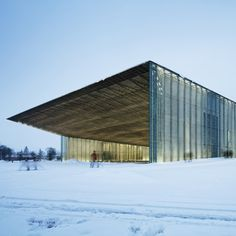 Dorell Ghotmeh Tane's Estonian National Museum occupies site of former Soviet airbase
