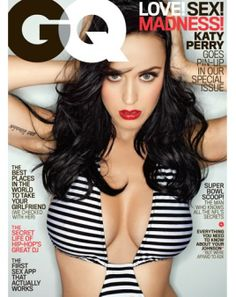 Katy Perry shows off curves for GQ February 2014 issue