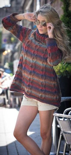 Knitting Pattern from the collection City Girl by Noro £7.16 found at Deramores