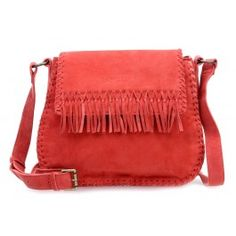 wardow.com - #bag #trend #red #fruits #color #Liebeskind Laced Edda Schultertasche samtiges Rindsleder lipstick