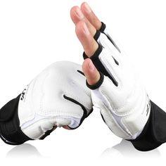 نصف إصبع القتال الملاكمة قفازات ساندا الكاراتيه الرمل حامي ل boxeo mma الملاكمة التايلاندية ركلة الملاكمة tkd التدريب