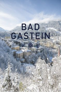 Winter in Bad Gastein - With alpine peaks that rise beyond the three-thousand-meter mark, all the way up into the glacial zones of the Hohe Tauern range, Bad Gastein isn't just the Monte Carlo of the Alps, it is also a paradise for fans of outdoor sports. But even putting the countless sporting opportunities aside, this charming Belle Époque town has even more to offer. Bad Gastein has many different faces, from deep in the valley to the top of the highest mountains. Belle Epoque, Monte Carlo, Alps, Paradise, National Parks, Range, Deep, Mountains, Winter