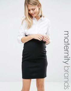 Image 1 of Mamalicious 2 In 1 Long Sleeve Smart Dress