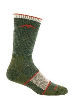 Darn Tough Merino Wool Boot Sock Full Cushion,Olive,Large...