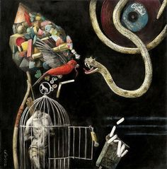 The Boy from Santiago Caruso - PANGENESIS