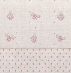 Bee and Blackberry Dusty Pink Linen Dusty Pink Dots by Peony & Sage Dusty Pink Bedroom, Pink Bedrooms, Childrens Blinds, Sewing Room Decor, Little Girl Rooms, Pink Fabric, Fabric Wallpaper, Fabric Swatches, Fabric Painting