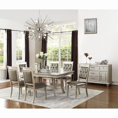 Wayfair Living Room Table Lamps New Darby Home Co Wilmington 7 Piece Dining Set Dining Room Kitchen Dining Sets, Counter Height Dining Sets, Dining Room Sets, Dining Table, Bar Tables, Table Lamps, Dining Chairs, Formal Dining Set, Solid Wood Dining Set